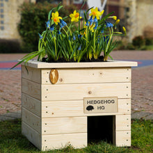 Load image into Gallery viewer, 'Hedgehog Headquarters' Hedgehog House and Planter
