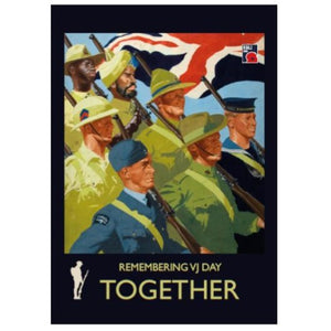 VJ Day Together Window Stickers (home and car)