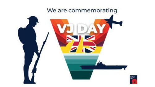 VJ Day Tommy Window Stickers (home and car)