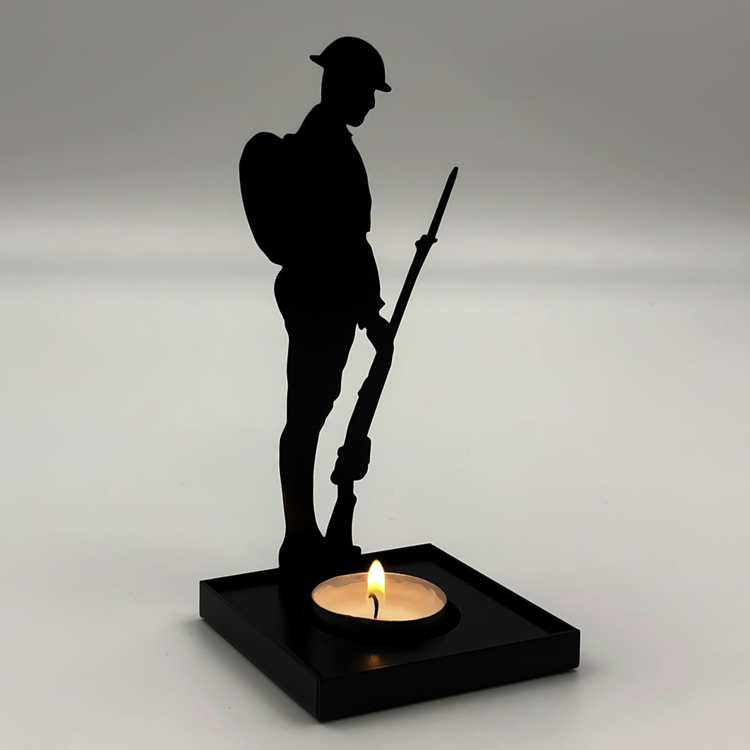 Tommy Silhouette Tealight Holder