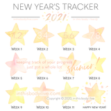 New Year's - Weekly Tracker