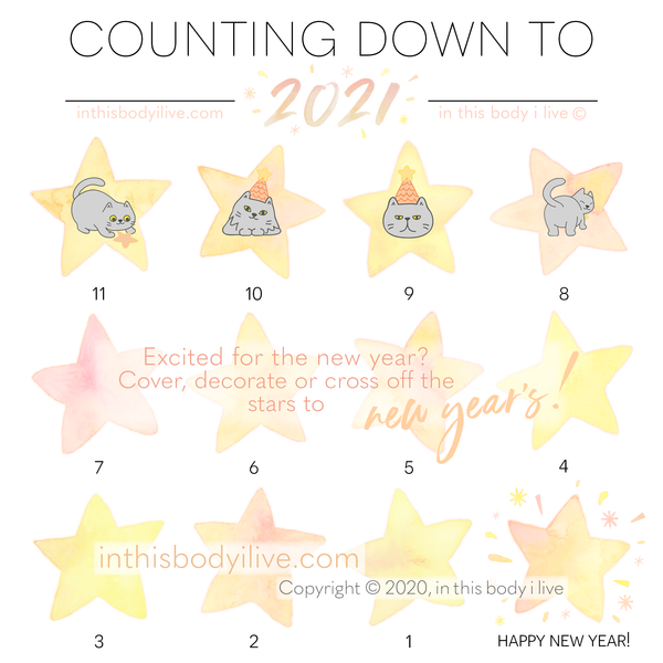 New Year's - Countdown