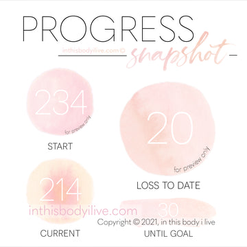 Progress Snapshot - Coral Peach