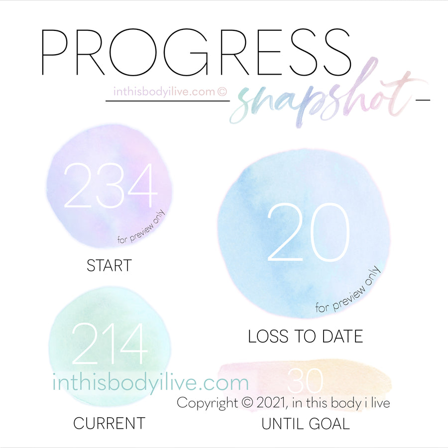 Progress Snapshot - Rainbow
