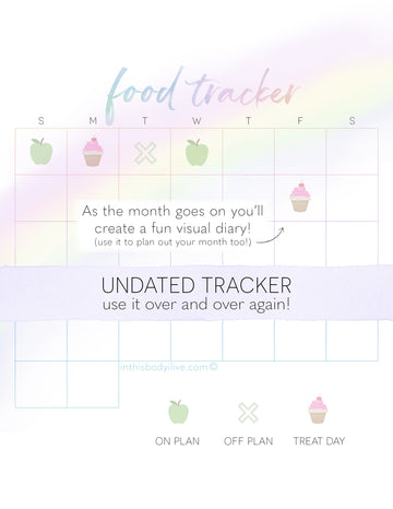 Food tracker - Over the Rainbow