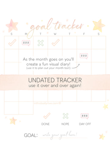 Goal tracker - Themed