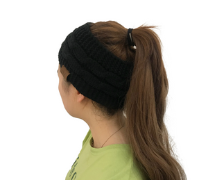 Ponytail Bun Skully