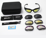 Night Vision Riding Glasses Goggle Set