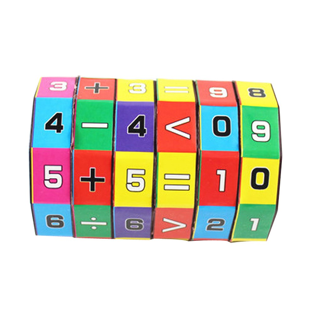 Mathematics Magic Puzzle Cube