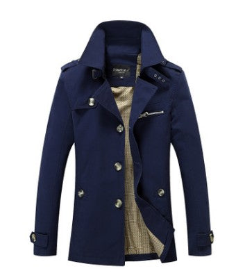 Mid Trench Men Coat