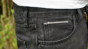 Selvage Black Jeans