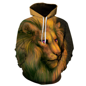 Graphic Printed Men 3D Hooded Sweatshirt