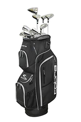 Cobra Golf 2019 XL Speed Complete Set (Men's, Black, Right Hand, Graphite, Senior Flex)