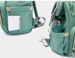 Waterproof Baby Diaper Bag With USB Interface.