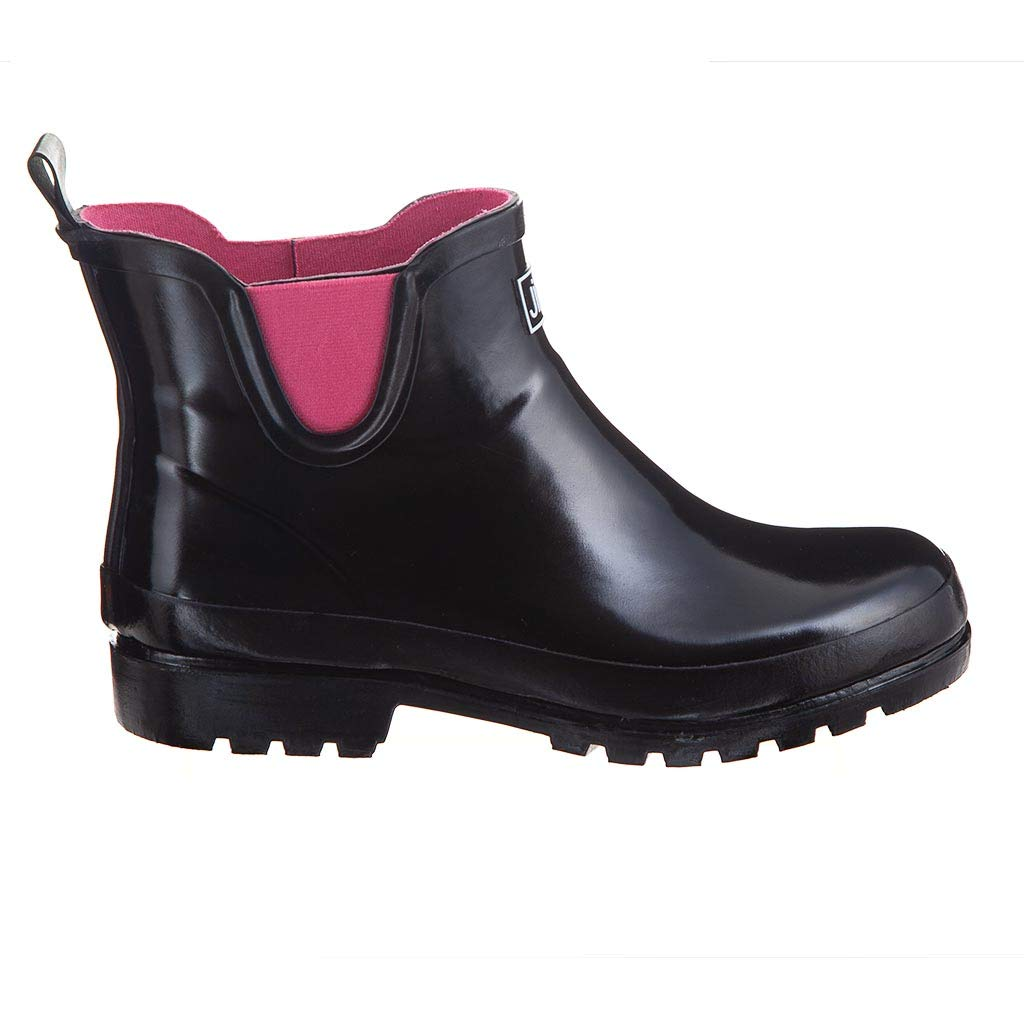 Ankle Height Rubber Rain Boots. shefanc.com