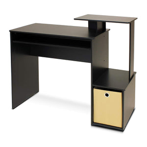 Furinno Econ Multipurpose Home Office Computer Writing Desk with Bin