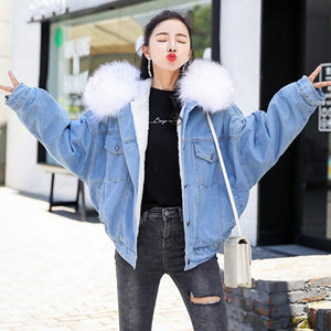 SturrlyWomen Thicken Warm Winter Coat Hood Parka Overcoat Long Jacket Outwear White