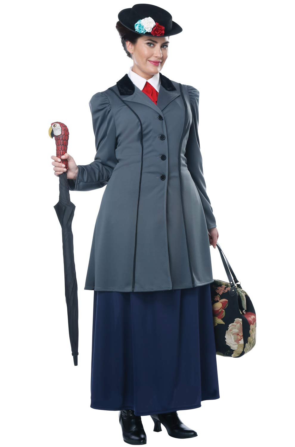 English Nanny-Adult Plus size Women Costume