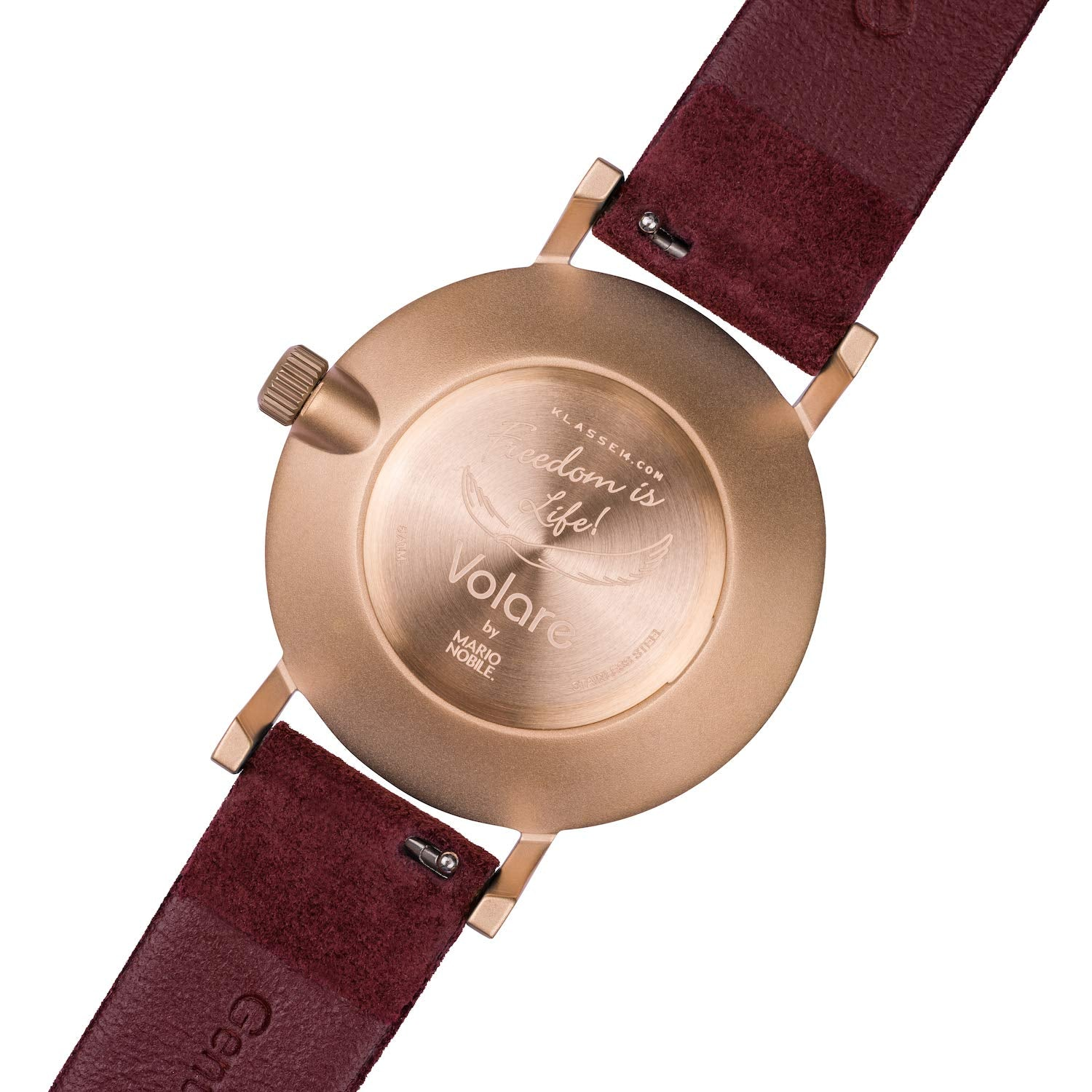 Miss Volare Leather Band Women's Watch