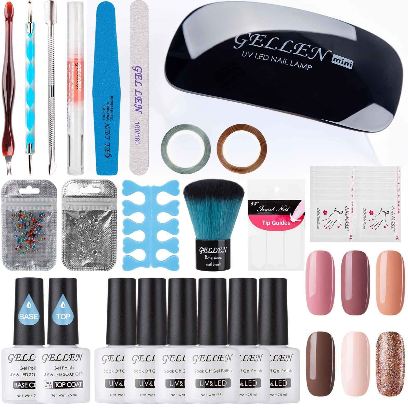 Gellen Gel Polish Starter Kit