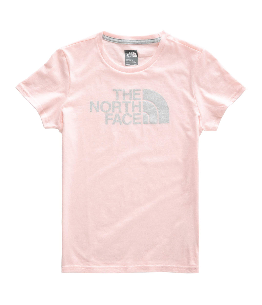 The North Face Kids Girl's Short Sleeve Graphic Tee.