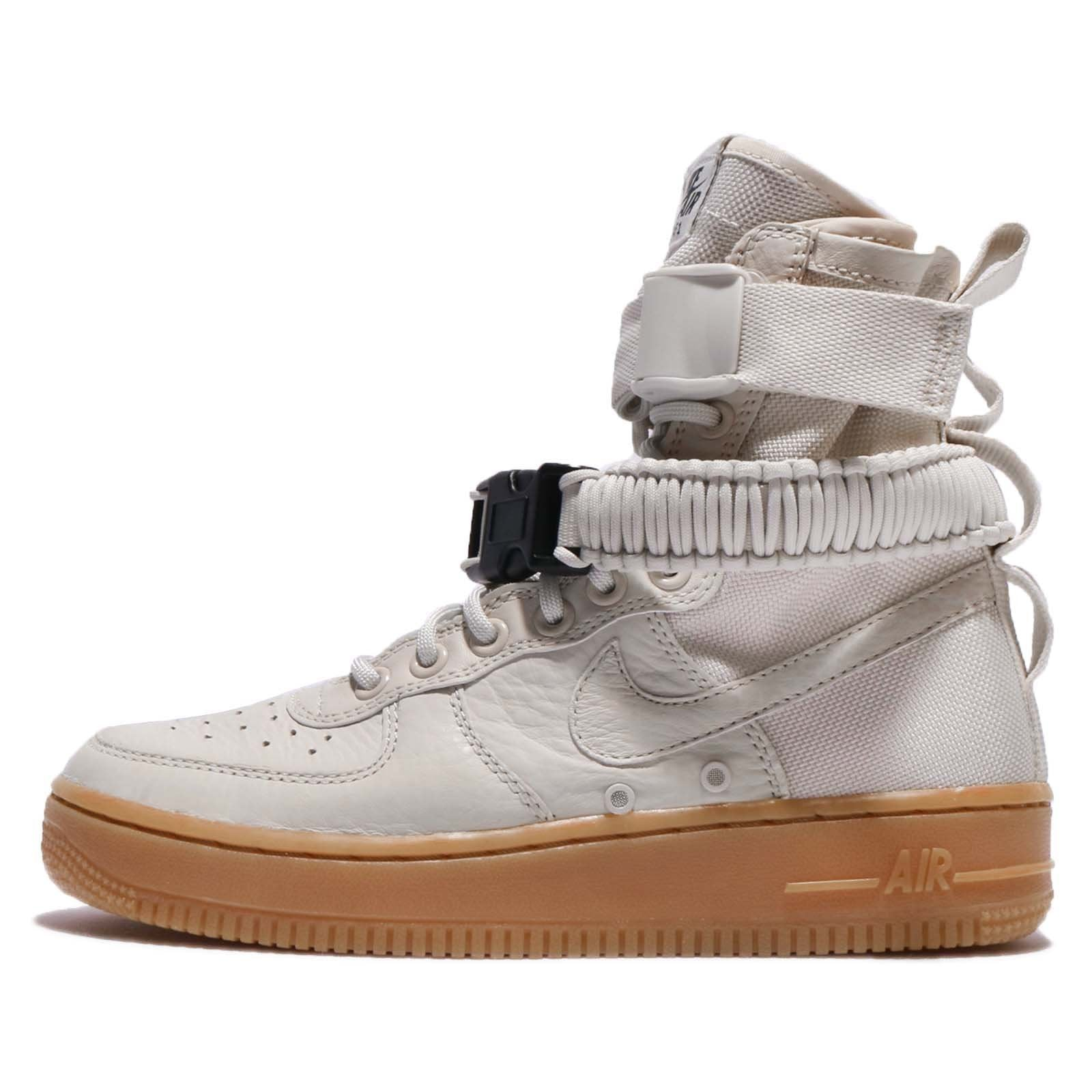 Nike SF Air Force 1 Womens Shoes Light Bone/Light Bone