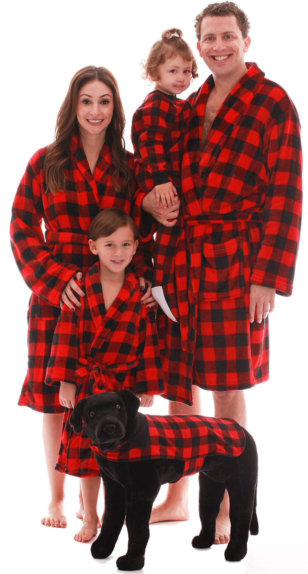 Ultra Soft Velour Robes for the family