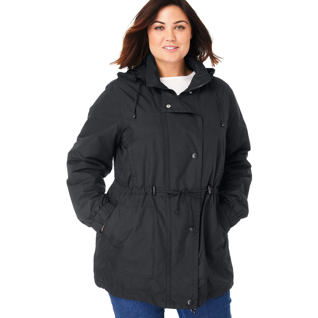 Women's Plus Size Fleece-Lined jacket