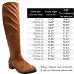 Women's Wide Width Over The Knee Boots.