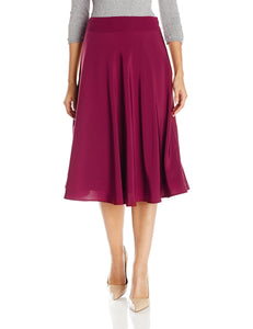 Lark & Ro Women's Midi Skirt