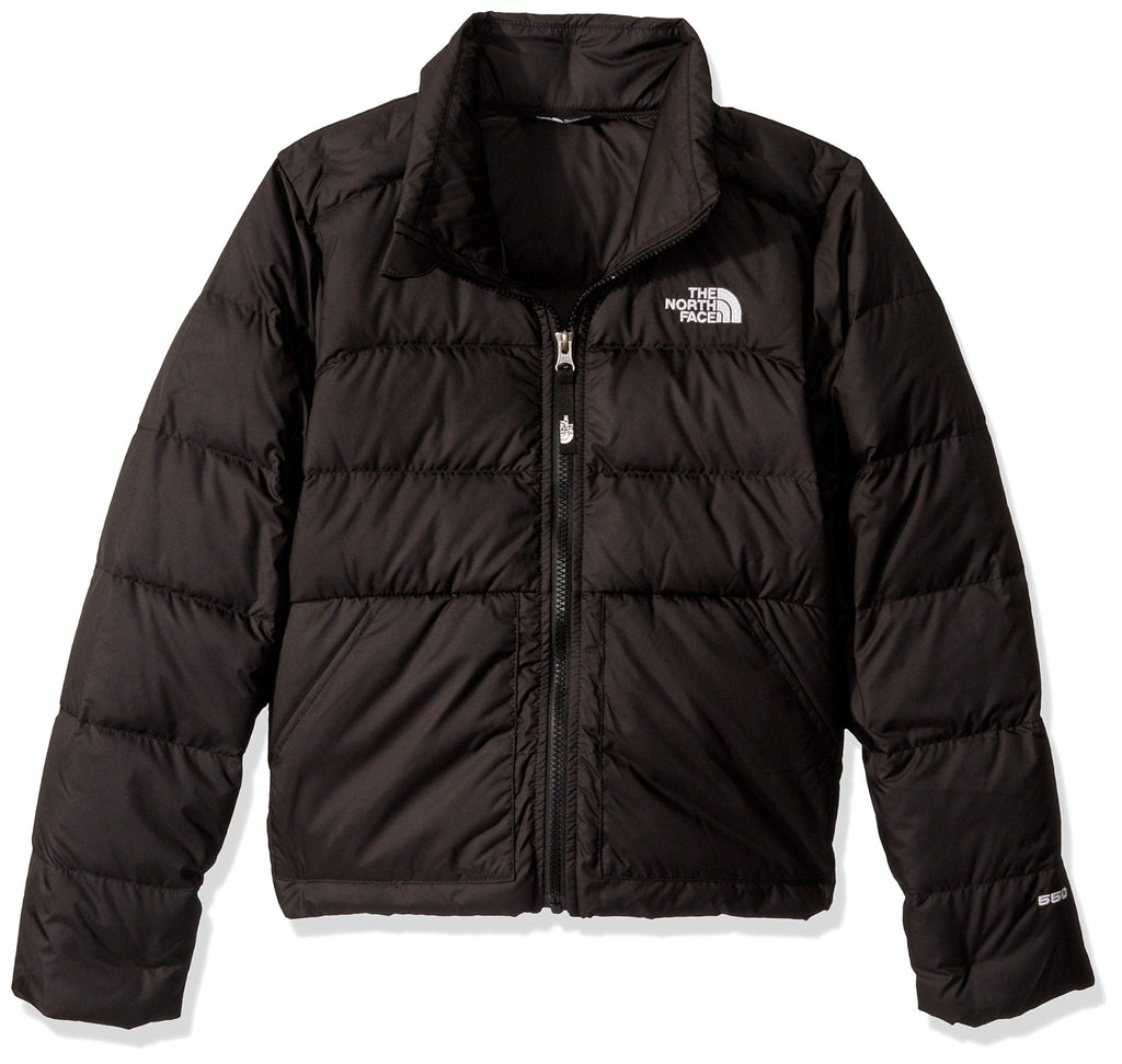 The North Face Girls' Andes Down Jacket, TNF Black, S