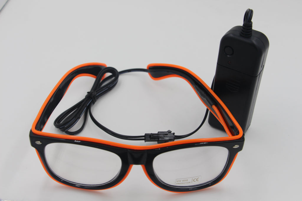 NEW Fashion 7 Colors Flashing EL Wire Led Glasses Festival Gift