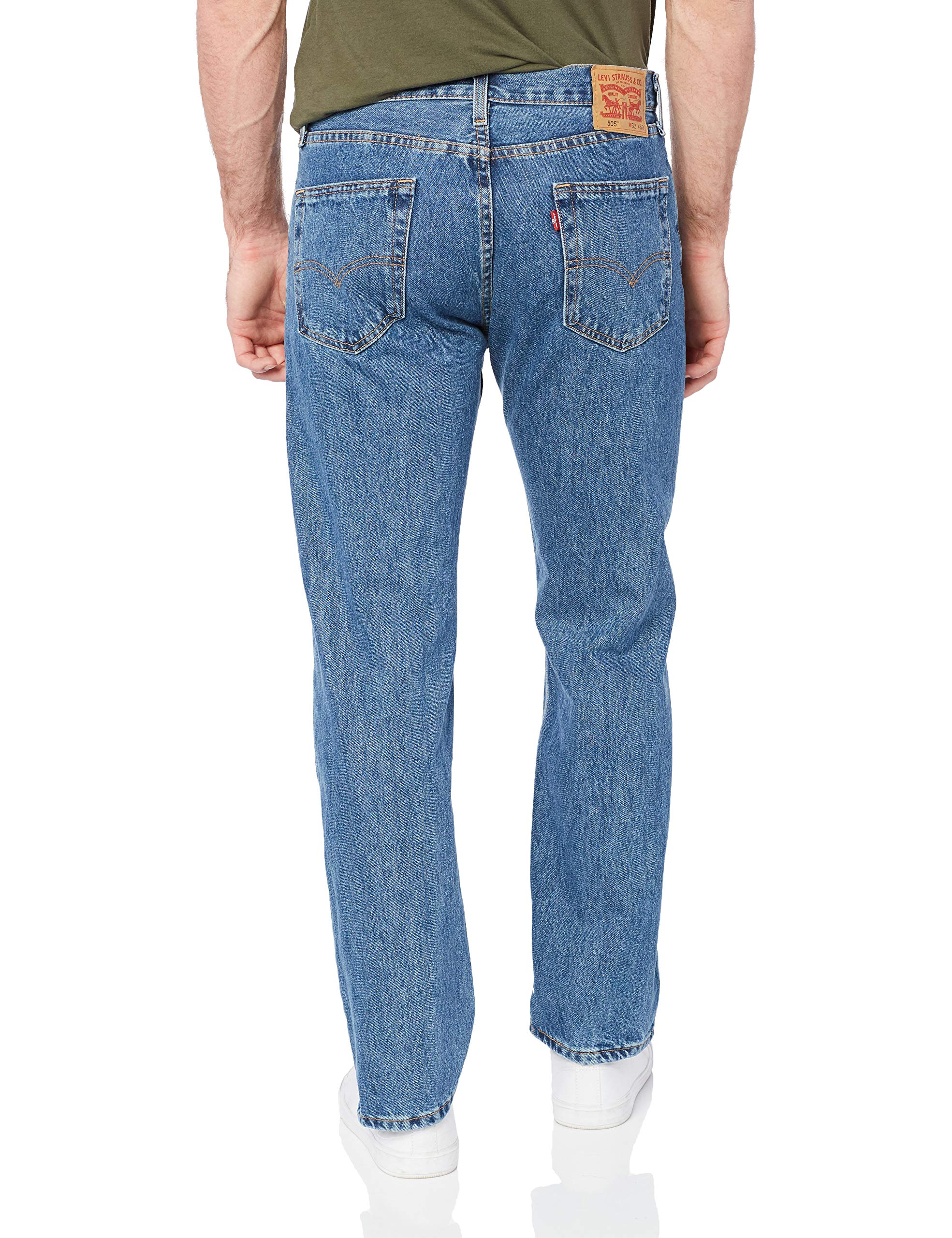 Levi's Men's 505 Regular Fit-Jeans
