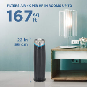Germ Guardian True HEPA Filter Air Purifier for Home, Office, Bedrooms