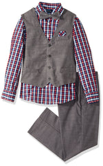 Nautica Boys' 4-Piece Vest Set.