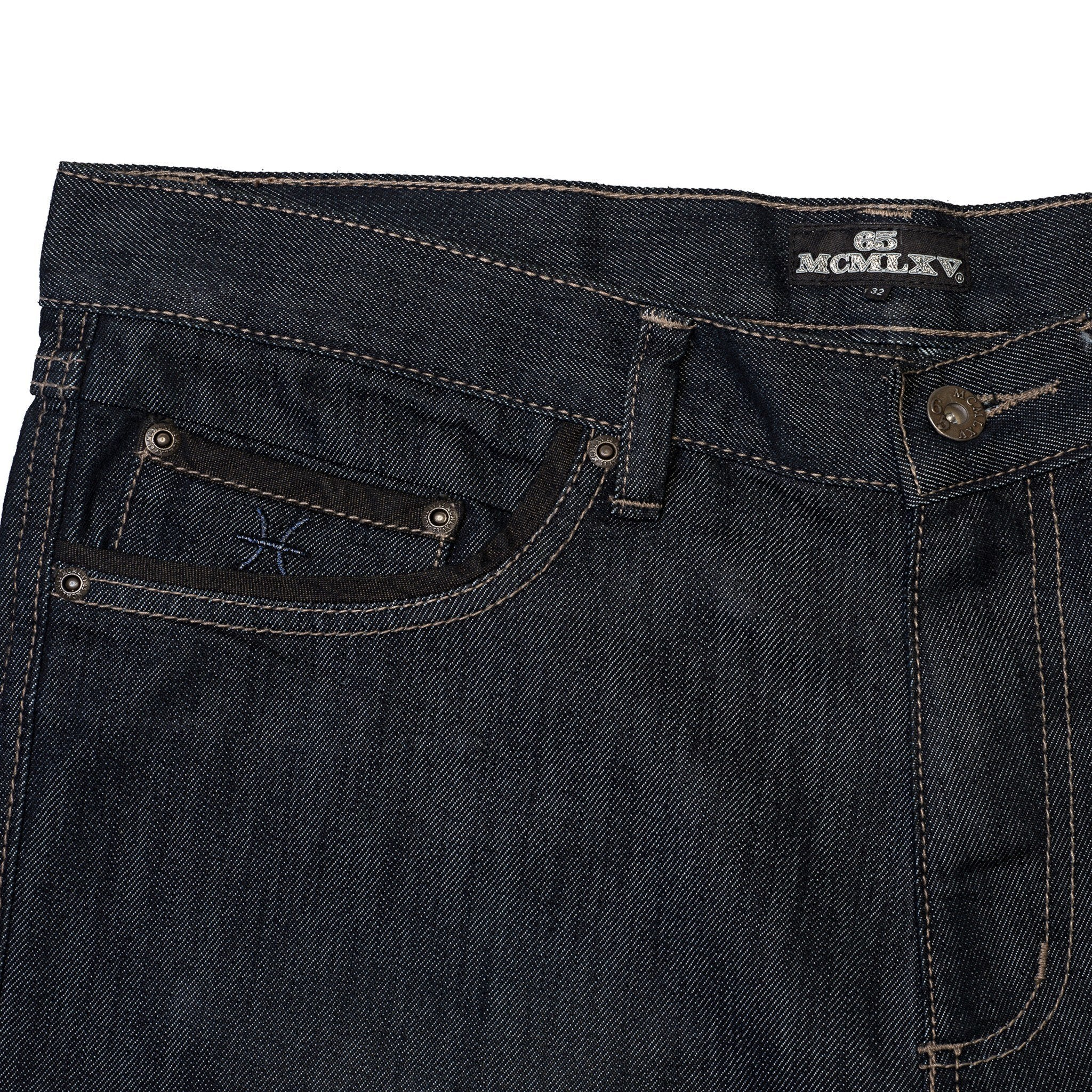 Men's Premium Denim Dark Wash Jean