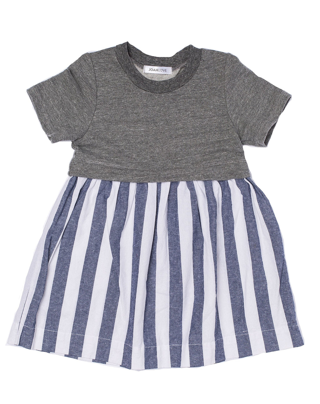 Vertical Striped Sunday Dress