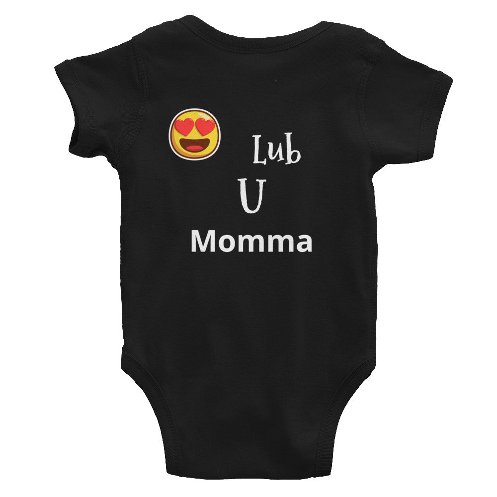 Mommas boy Infant Bodysuit