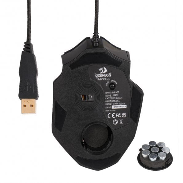 Laser Wired High Precision Mouse for PC