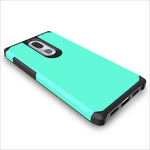 Dual Layer Hybrid Armor Case Shockproof Anti Scratch Protective Soft TPU & Hard Back Cover