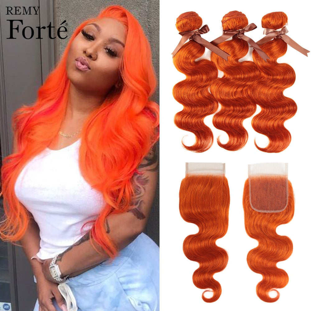 Orange Bundles With Closure