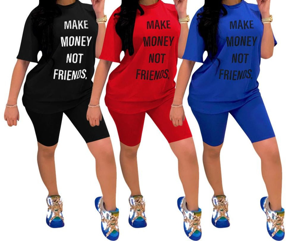 Plus Size lounge Set Women Tracking Suit Letter Print Sportwear Sweatshirt