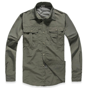 Men's Military Clothing Lightweight Army Shirt Quick Dry Tactical Shirt