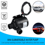 Professional Ultra Quiet Mini DC 12V Lift 5M 800L/H Brushless Motor Submersible Water Pump Multi-function Threaded Water Pump