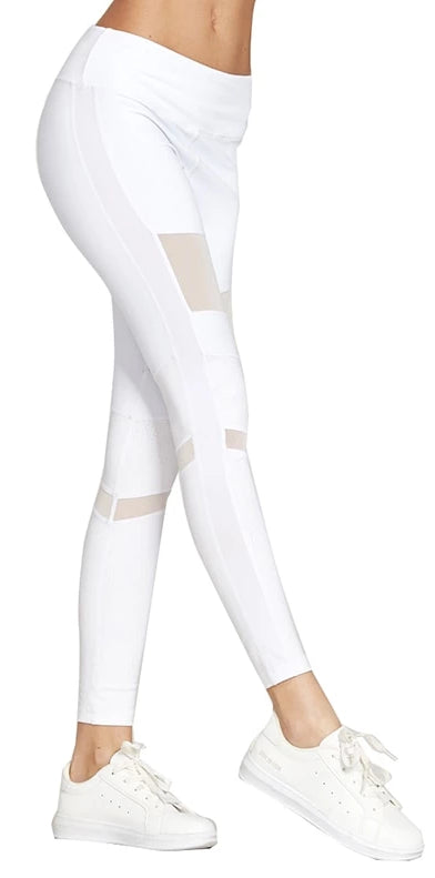 Hollow Mesh Leggings