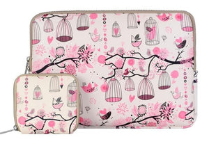 Laptop Floral Sleeve Cover Case 12.9 inch
