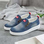 Ladies Denim Loafers Plus Size 35-44