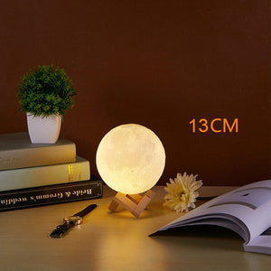 Rechargeable Moon light Touch Sensor Desk Lamp