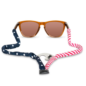 American Flag Sunglass Straps