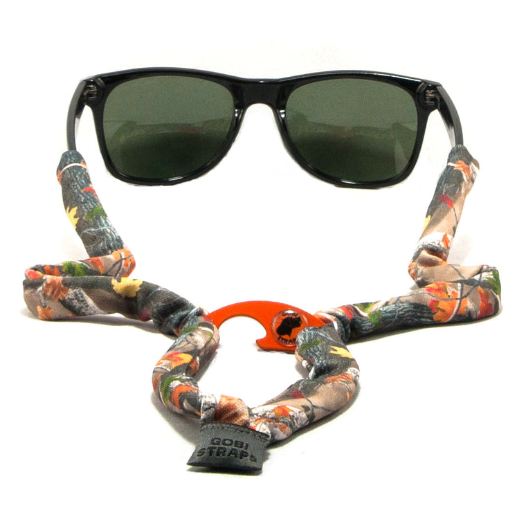 Autumn Forest Camouflage Sunglass Straps